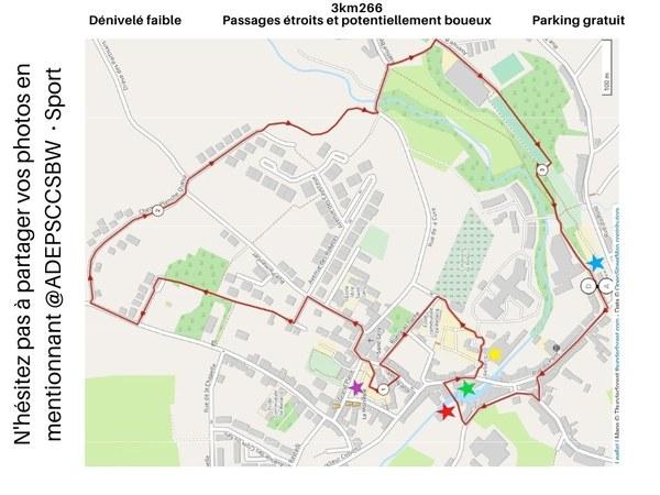 Carte 3 km