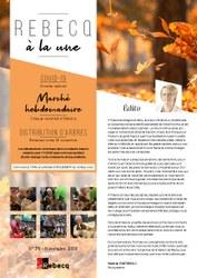 Rebecq à la Une - n°71 - Novembre 2020
