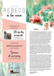 Rebecq à la Une - n°73 - Mars 2021