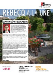 Rebecq à la Une - n°45 - septembre 2015