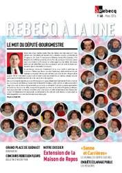Rebecq à la Une - n°48 - mars 2016
