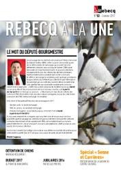 Rebecq à la Une - n°52 - janvier 2017