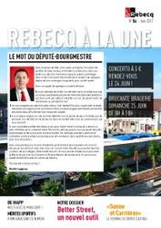 Rebecq à la Une - n°54 - juin 2017