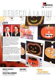 Rebecq à la Une - n°56 - novembre 2017