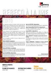 Rebecq à la Une - n°61 - novembre 2018