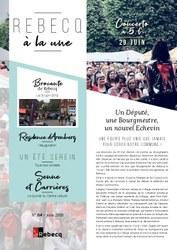 Rebecq à la Une - n°64 - juin 2019