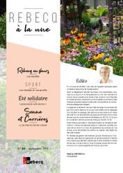 Rebecq à la Une - n°65 - septembre 2019