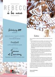 Rebecq à la Une - n°67 - janvier 2020