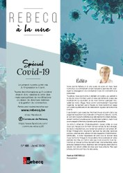 Rebecq à la Une - n°68 - avril 2020